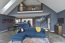 House Plan Design - Contemporary Interior - Family Room Plan #929-85