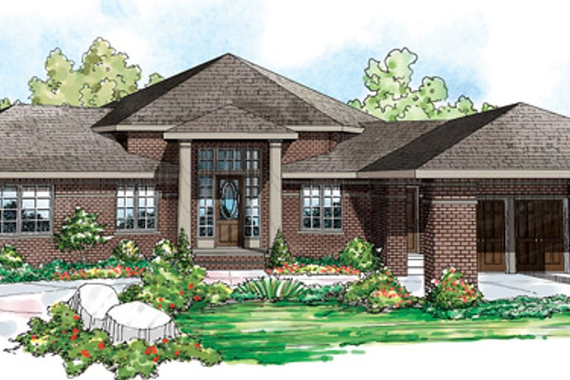 House Plan Design - Contemporary Exterior - Front Elevation Plan #124-850