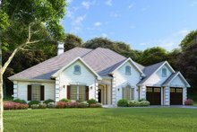 Dream House Plan - Country Exterior - Front Elevation Plan #17-2682