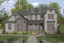 Traditional Exterior - Front Elevation Plan #56-679