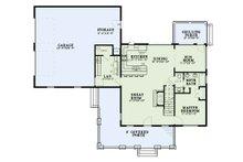 Country Floor Plan - Main Floor Plan Plan #17-3406