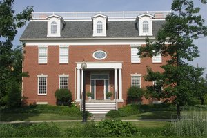 Colonial Exterior - Front Elevation Plan #458-6