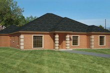 Home Plan - Ranch Exterior - Front Elevation Plan #1061-22