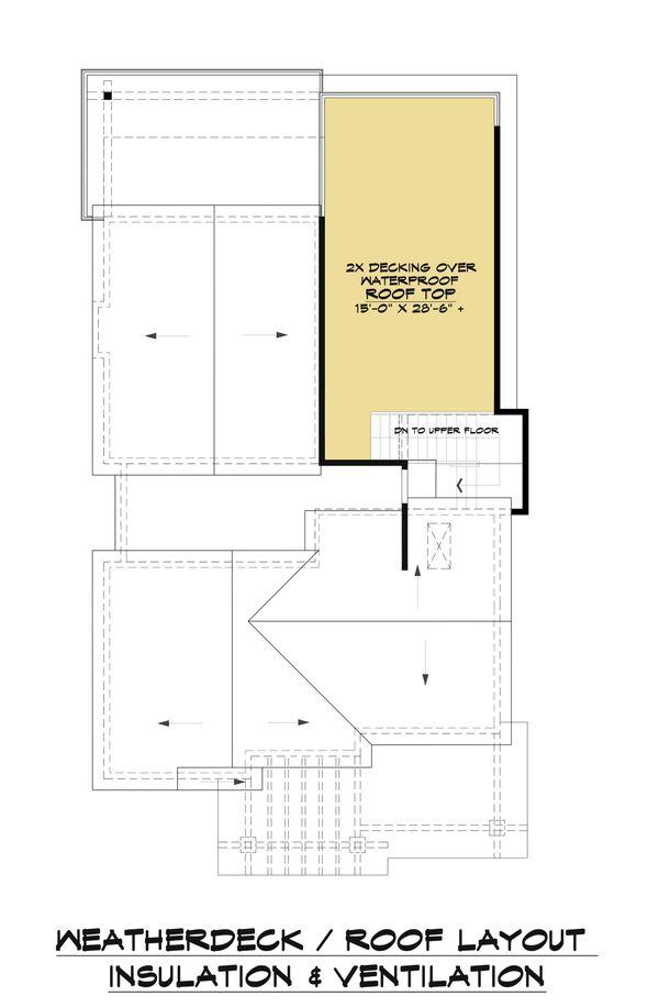 Contemporary Floor Plan - Other Floor Plan Plan #1066-100