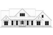 Home Plan - Farmhouse Exterior - Front Elevation Plan #430-204