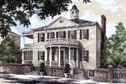 Classical Style House Plan - 3 Beds 3 Baths 3585 Sq/Ft Plan #137-222