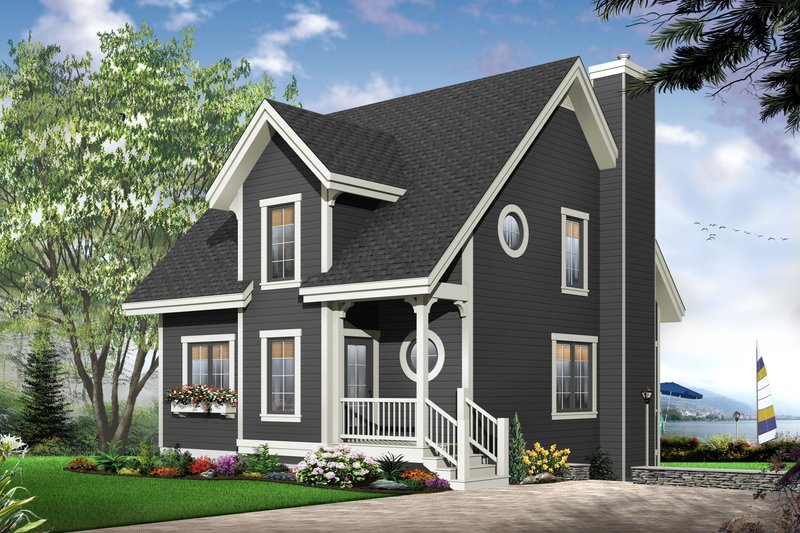 Traditional Exterior - Front Elevation Plan #23-663