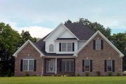 Southern Style House Plan - 4 Beds 3 Baths 2796 Sq/Ft Plan #412-126 Exterior - Front Elevation