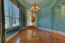 Home Plan - Mediterranean Interior - Dining Room Plan #80-184