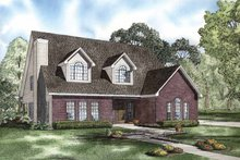 House Plan Design - Colonial Exterior - Front Elevation Plan #17-2764