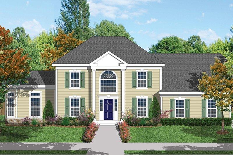 Classical Exterior - Front Elevation Plan #1053-62 - Houseplans.com