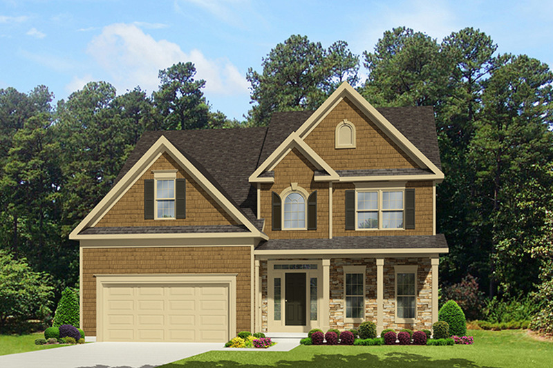 Country Exterior - Front Elevation Plan #1010-121 - Houseplans.com