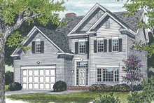 House Plan Design - Traditional Exterior - Front Elevation Plan #453-499
