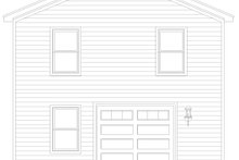 Dream House Plan - Traditional Exterior - Rear Elevation Plan #932-335