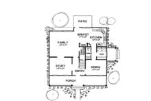 Classical Floor Plan - Main Floor Plan Plan #472-160