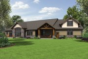 Craftsman Style House Plan - 3 Beds 2.5 Baths 3163 Sq/Ft Plan #48-688 Exterior - Rear Elevation