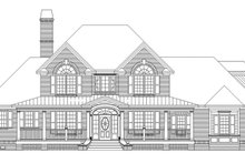 Country Exterior - Front Elevation Plan #929-886