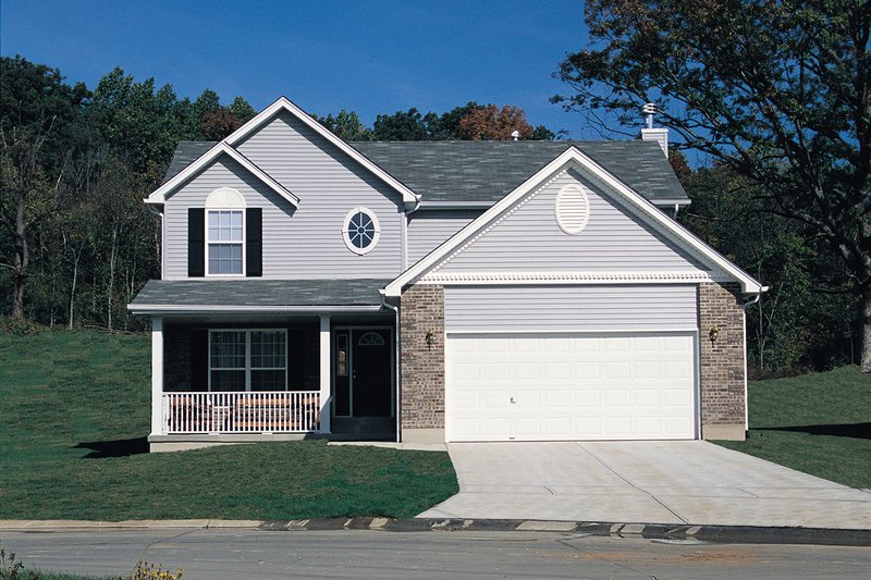 Traditional Photo Plan #57-163 - Houseplans.com