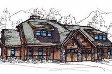 Craftsman Exterior - Front Elevation Plan #17-2911