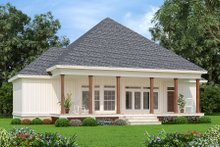House Blueprint - Farmhouse Exterior - Rear Elevation Plan #45-597