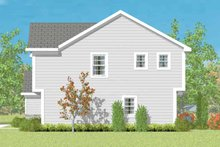 House Plan Design - Traditional Exterior - Other Elevation Plan #72-1076