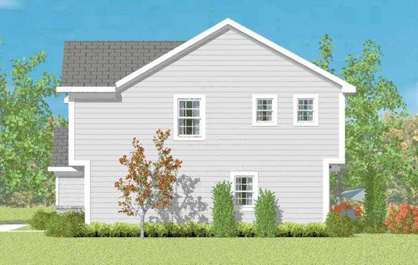 Traditional Floor Plan - Other Floor Plan Plan #72-1076