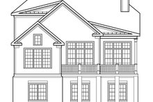 House Plan Design - Traditional Exterior - Rear Elevation Plan #927-656