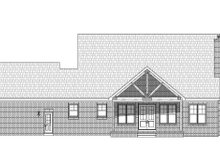 Country Exterior - Rear Elevation Plan #932-278