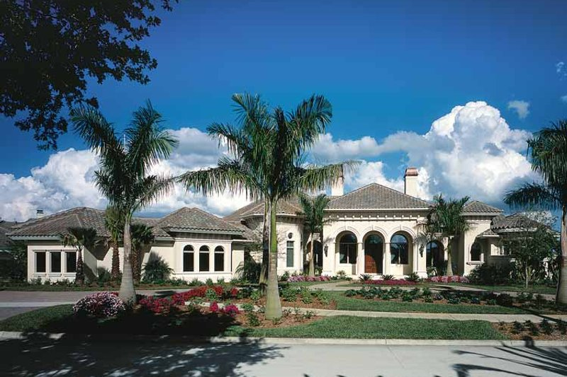 Mediterranean Exterior - Front Elevation Plan #930-323 - Houseplans.com
