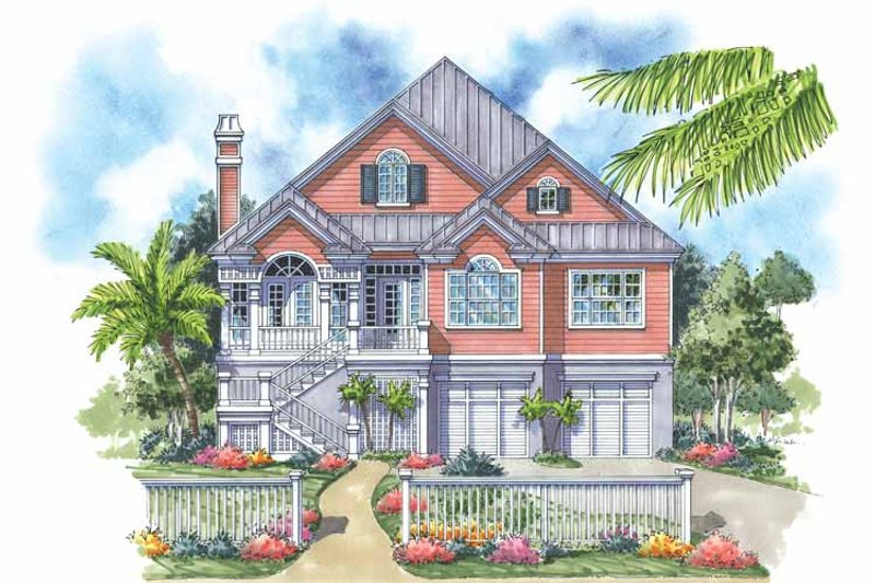 Country Exterior - Front Elevation Plan #930-159 - Houseplans.com