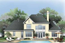 House Plan Design - Traditional Exterior - Rear Elevation Plan #929-782