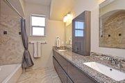 Mediterranean Style House Plan - 5 Beds 4 Baths 3585 Sq/Ft Plan #80-221 Interior - Bathroom