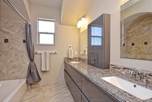 Home Plan - Mediterranean Interior - Bathroom Plan #80-221