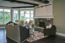 Home Plan - Country Interior - Family Room Plan #928-250