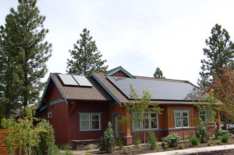 House Plan Design - Craftsman Exterior - Other Elevation Plan #895-72