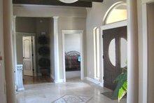 House Design - Adobe / Southwestern Interior - Entry Plan #451-19