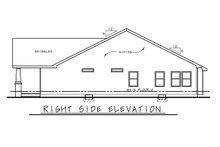 Dream House Plan - Cottage Exterior - Other Elevation Plan #20-2391