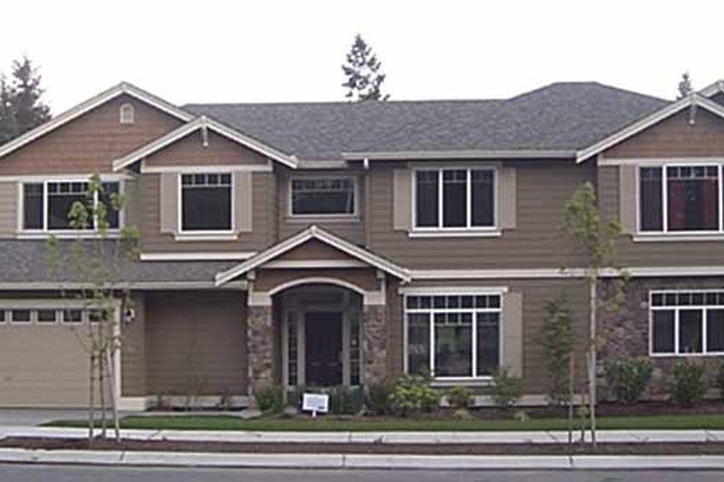 Contemporary Exterior - Front Elevation Plan #951-4 - Houseplans.com