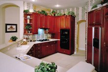 European Interior - Kitchen Plan #417-629