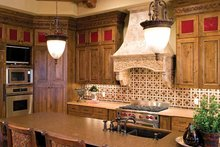 European Interior - Kitchen Plan #51-1073
