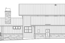 Prairie Exterior - Other Elevation Plan #1042-18