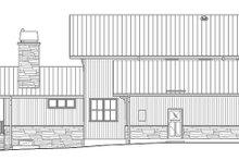 Architectural House Design - Prairie Exterior - Other Elevation Plan #1042-18
