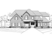 Traditional Style House Plan - 5 Beds 3 Baths 4439 Sq/Ft Plan #411-197