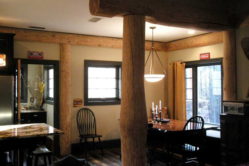 Country Interior - Dining Room Plan #942-27 - Houseplans.com