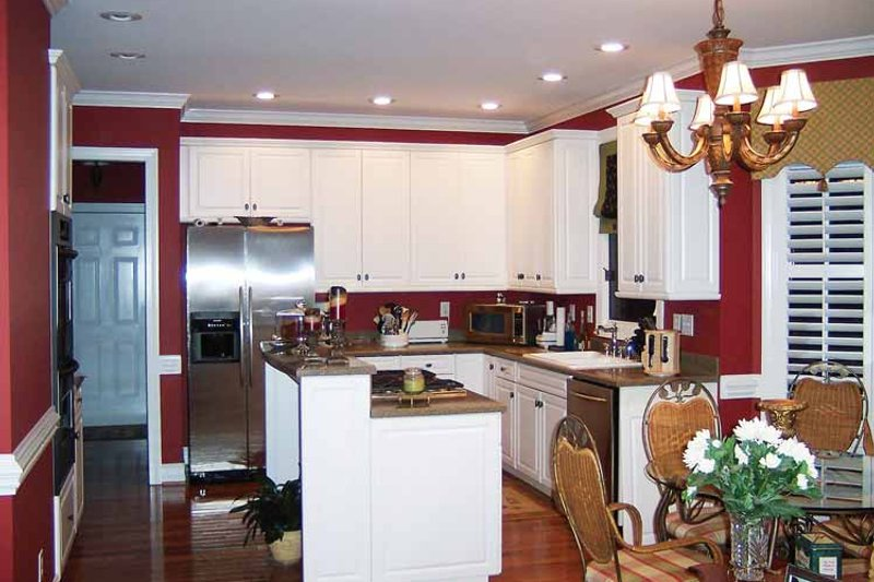 Colonial Interior - Kitchen Plan #429-64 - Houseplans.com