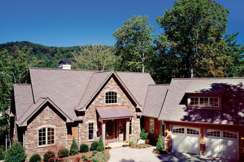 Home Plan - European Exterior - Front Elevation Plan #929-899