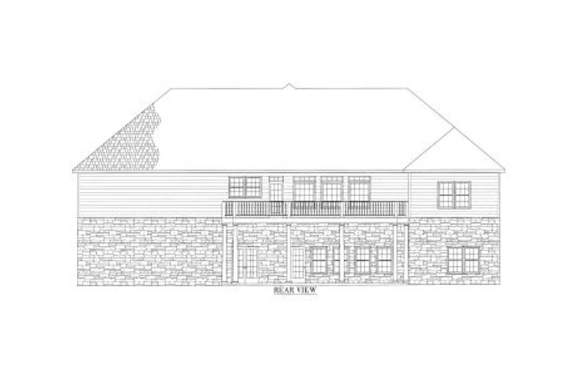Country Exterior - Other Elevation Plan #437-42 - Houseplans.com