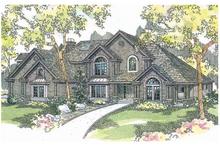 Home Plan - European Exterior - Front Elevation Plan #124-515