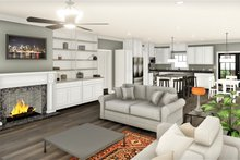 House Design - Traditional Interior - Family Room Plan #44-253