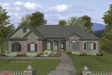 Craftsman Exterior - Front Elevation Plan #56-685